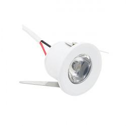 Downlight led mini 1W cor branca