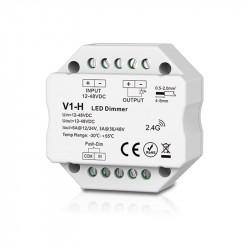 12-48VDC LED push dimmer RF